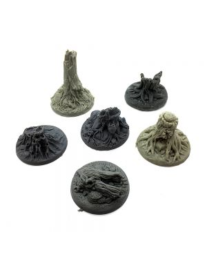 Tree stump scatter terrain pack of 6 small image